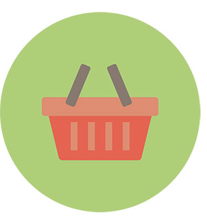 E-Commerce Shopping basket