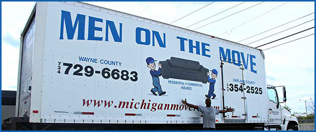 Professional Movers Men on the Move