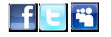 Facebook, Twitter MySpace